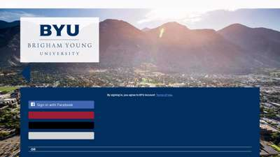 CAS - Brigham Young University Sign-in Service