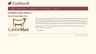 CattleMax cattle software
