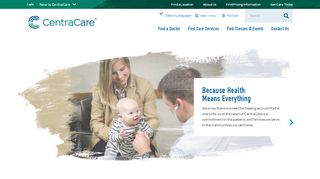 CentraCare: Central Minnesota Health Services