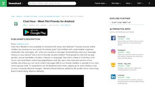Chat Hour - Meet Flirt Friends for Android - Free download and ...