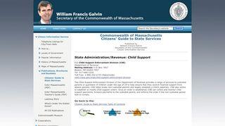 Child Support - MassLegalHelp