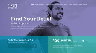 Chiropractor | The Joint Chiropractic | Home