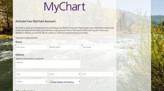 Choose a Signup Method - MyChart