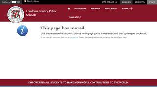 Coleman, Richelle / Clarity Parent Portal - Loudoun County ...