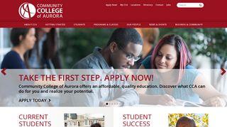 Community College of Aurora in Colorado: Aurora, Denver ...