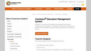 Connexus®   Connections Academy's Online Learning Platform