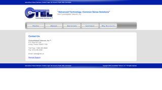 Contact - CTEL - Consolidated Telecom, Inc.