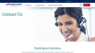 Contact Empower Retirement
