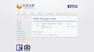 CPML Paragon Class - Greater Harrisburg Association of ...