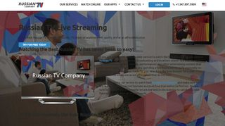 Create New Customer Account - Russian TV Company