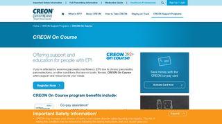 CREON® Coupon Savings & Co-Pay Assistance Program ...