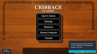 Cribbage Classic   Play online in your browser for free!