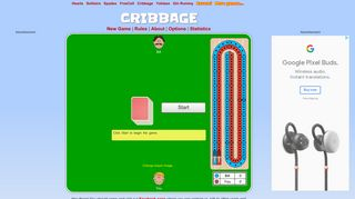 Cribbage   Play it online - CardGames.io