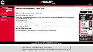 Cummins QuickServe Online