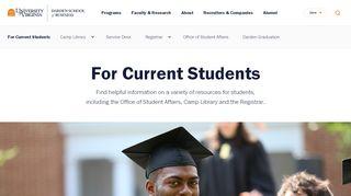 Current Darden Students | UVA Darden School of Business