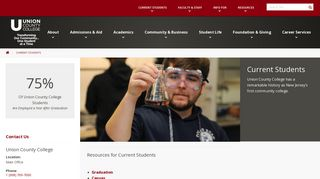 Current Students – Union County College has a remarkable ...