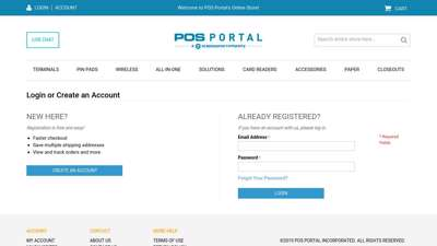 Customer Login - buy.posportal.com