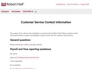Customer Service   OfficeTeam - Robert Half