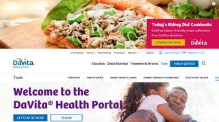 DaVita Health Portal  DaVita Kidney Care