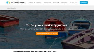 Dental Practice Management Cloud Software   Solutionreach