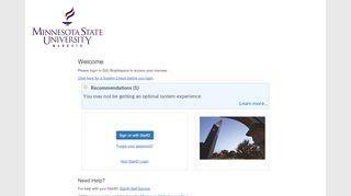 Desire2Learn – Minnesota State University, Mankato