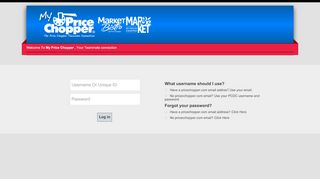 Direct Connect Login Instructions   Price Chopper