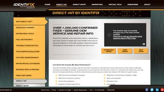 Direct-Hit Repair Data Subscription Service  Identifix