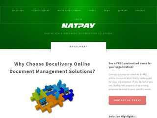 Doculivery Online Document Management - NatPay
