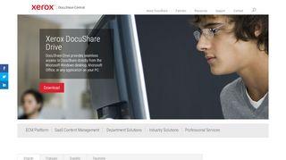 DocuShare Drive   Xerox DocuShare Content Management ...