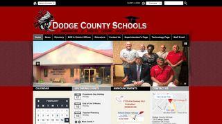 Dodge County Schools: Home
