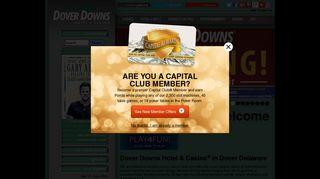 Dover Downs Hotel & Casino | Dover, Delaware