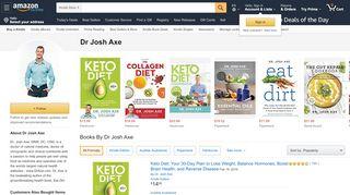 Dr Josh Axe - Amazon.com