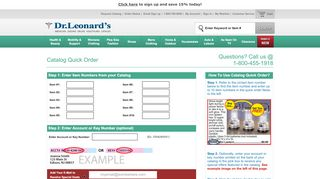 DrLeonards.com   Catalog Quick Shop - Dr. Leonard's