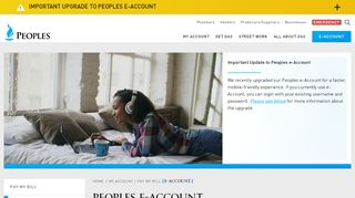 E-Account | Peoples Gas E-Account | Pay Your Bill Online | Peoples ...
