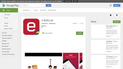 e-Boks.se - Apps on Google Play