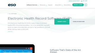 Electronic Health Record - ESO Solutions
