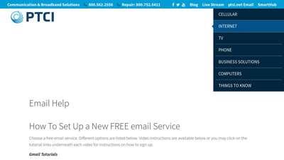 Email Help  PTCI