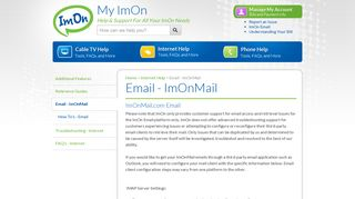 Email - ImOnMail - My ImOn