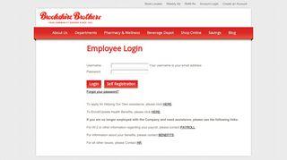 Employee Login - Account Login