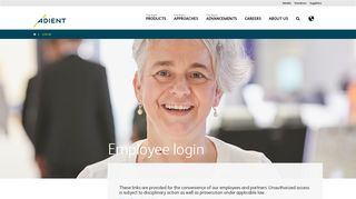 Employee login | Adient