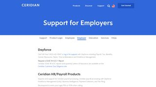 Employer Support Login | Dayforce | HR Payroll | Password ...