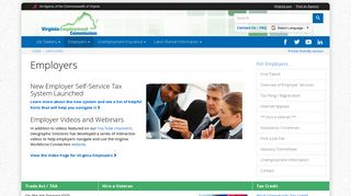 Employers | Virginia Employment Commission