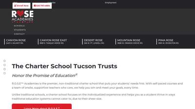 Enroll Today at Rose Academies  A Charter School Tucson Trust