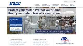 ENSTAR Natural Gas  All our energy goes into our customers