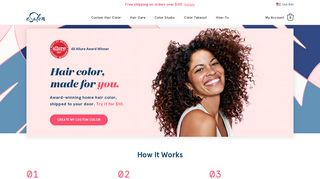 eSalon: Custom Home Hair Color, Delivered to You