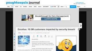 Excellus: 10.5M customers impacted by security breach