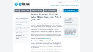 Excellus BlueCross BlueShield Cyber Attack: Frequently ...