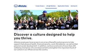 Explore Our Benefits – Allstate Careers - Allstate Jobs