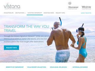 Explore Vacation Ownership with Vistana Signature Experiences