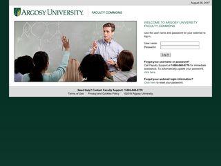 Faculty Portal Login - Argosy University